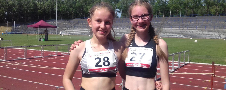 Franziska Müller auf Platz 6 bei Westfalenmeisterschaften