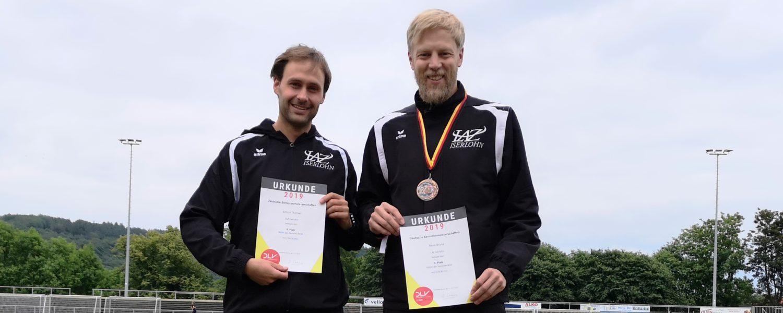 DM-Bronze für René Brune über 1500m