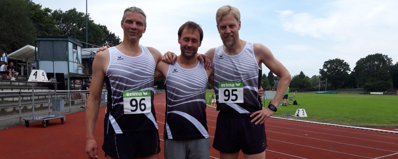 Kompletter Medaillensatz für LAZ Läufer